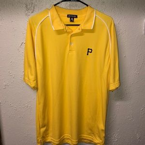 Pittsburgh Pirates Antigua Men's Polo